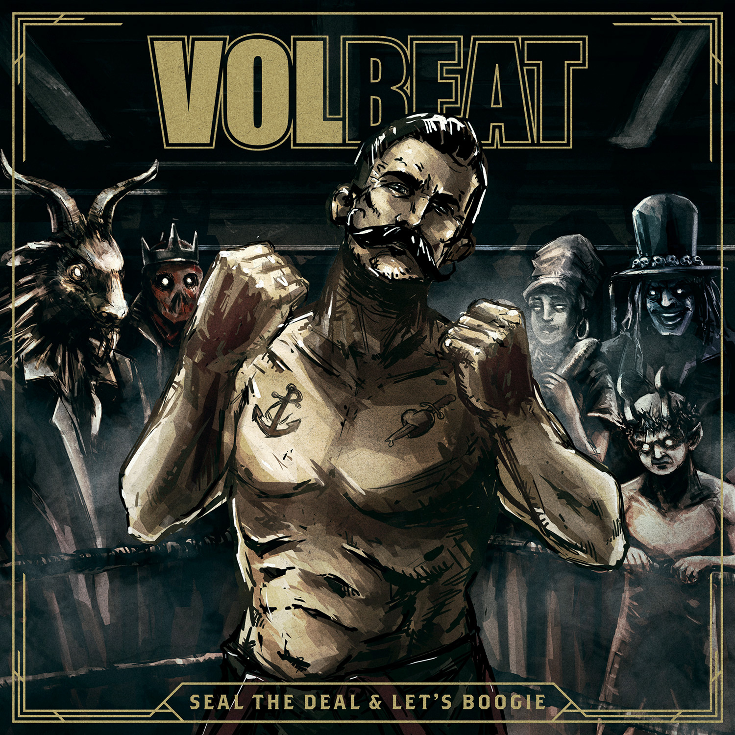 Volbeat | Music | Seal The Deal & Let's Boogie