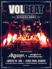 Volbeat Returns Home To Denmark in June 2019!