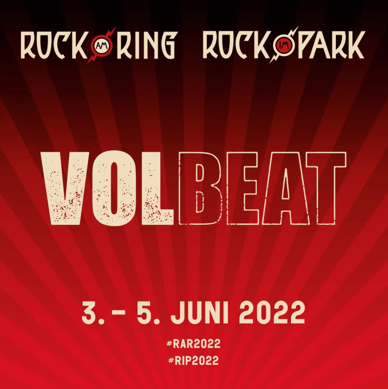 18+ Volbeat   News   Rock am Ring & Rock im Park 8 Stock